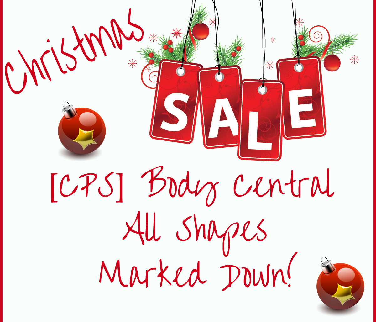 Body Central Sale >> Female Shapes Cps Cherry Pop Studio