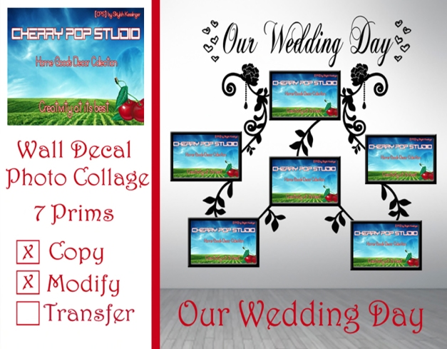 [CPS] Our Wedding Day Photo Collage AD