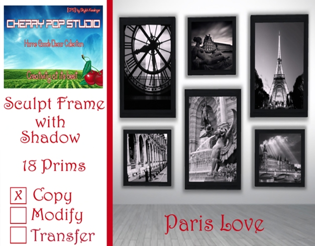 [CPS] Paris Love Prints AD