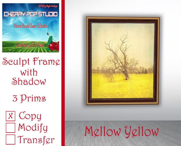 CPS Mellow Yellow Print AD