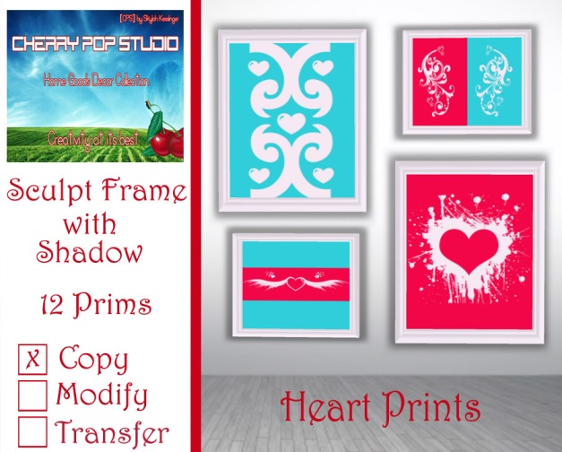 CPS Heart Prints AD