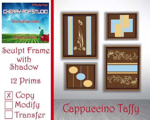CPS Cappuccino Taffy Print AD