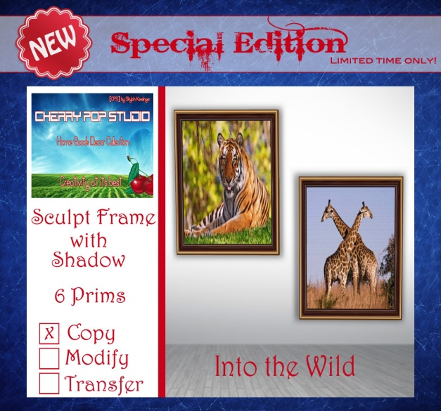CPS Special Edition - Into the Wild Prints AD