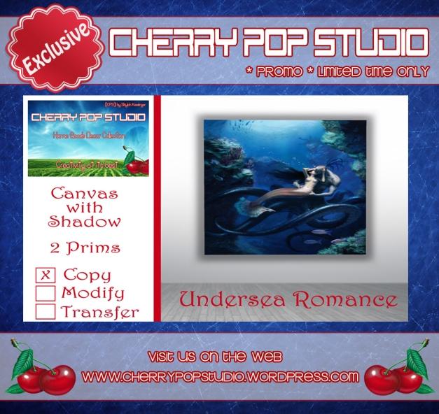 CPS Undersea Romance Canvas - Promo AD