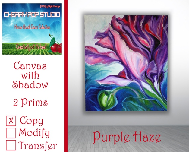 CPS Purple Haze Canvas AD