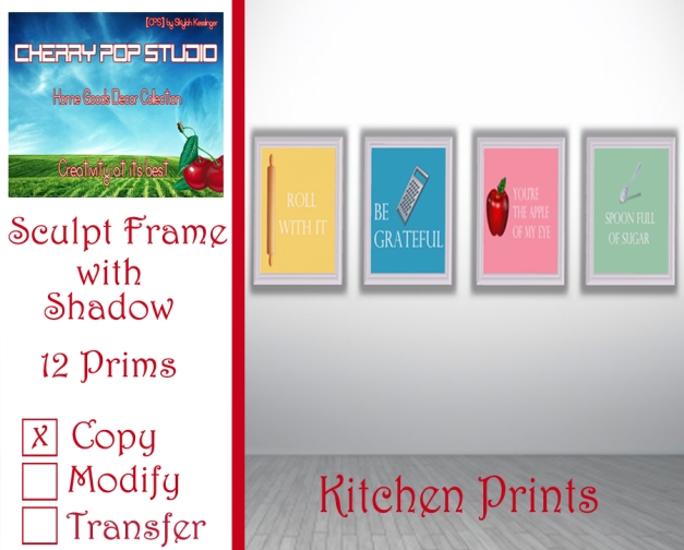 CPS Kitchen Prints AD