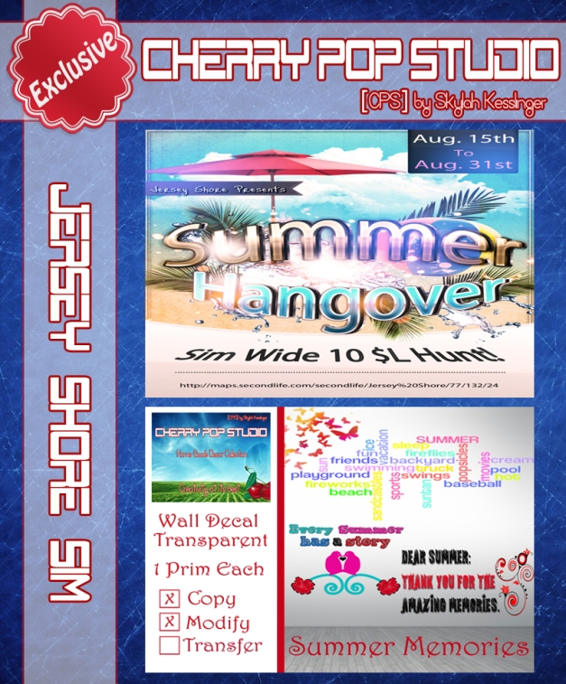 [CPS] Summer Hangover Hunt AD