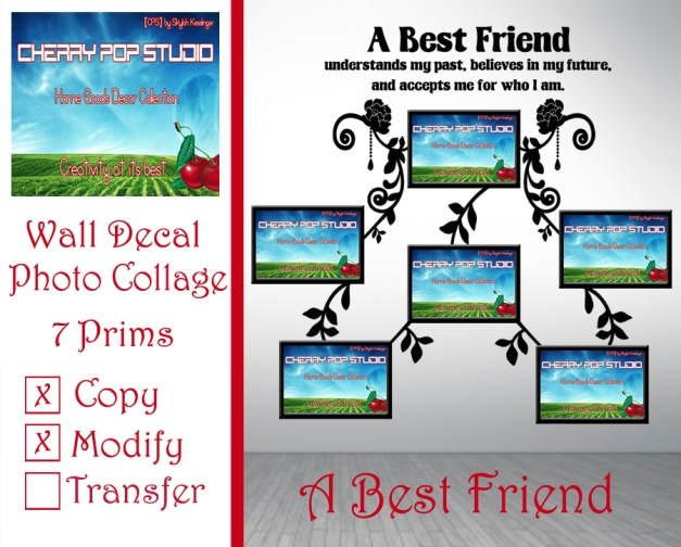 CPS A Best Friend Photo Collage AD