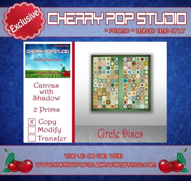 CPS Circle Discs Canvas - Promo AD
