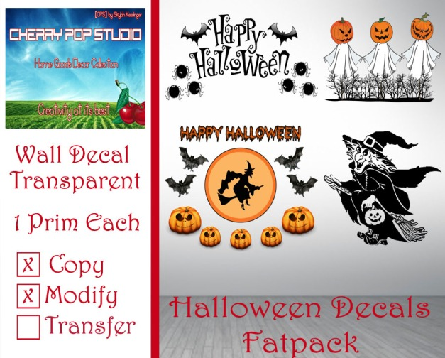 CPS Halloween Decals Fatpack AD