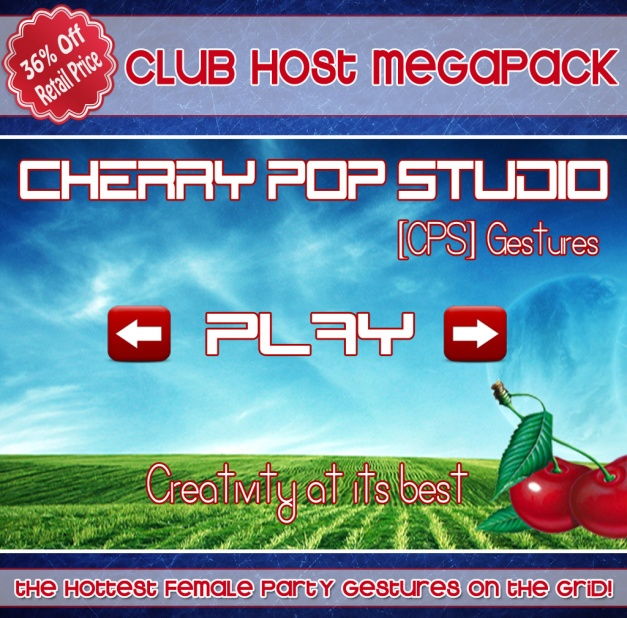 [CPS] Club Host Gestures Megapack AD