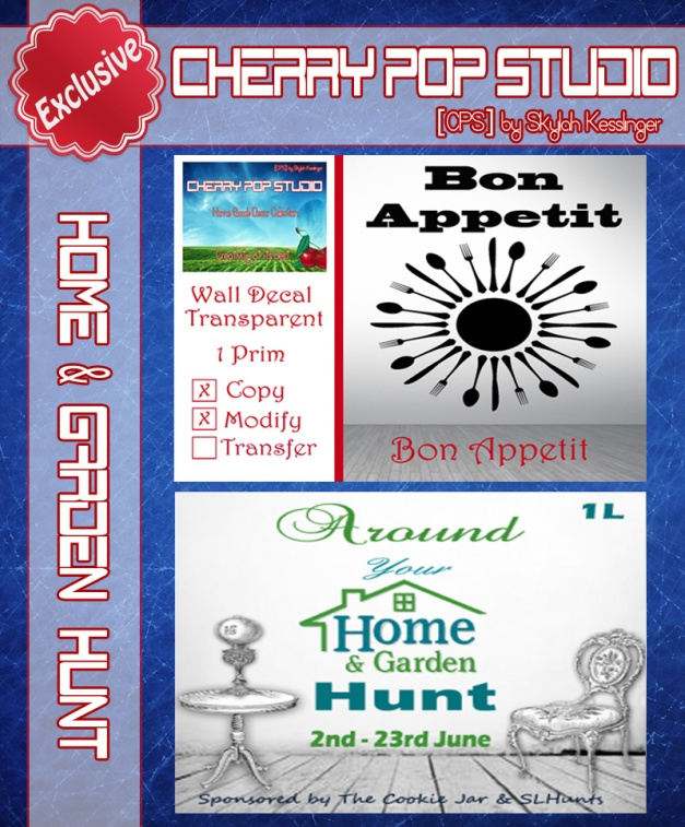 [CPS] TCJ Home & Garden Hunt AD