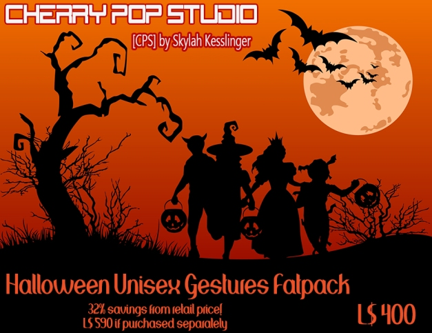[CPS] Halloween Unisex Gestures Fatpack AD