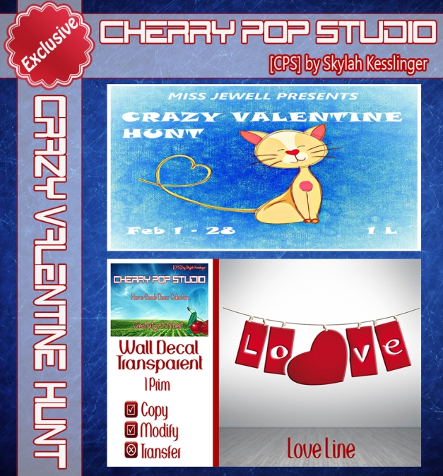 [CPS] Crazy Valentine Hunt 2016 AD